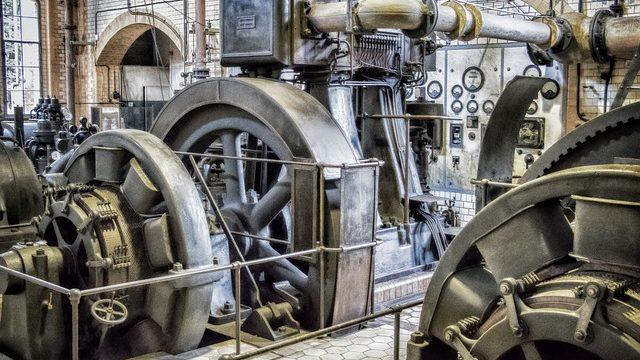 古い発電機